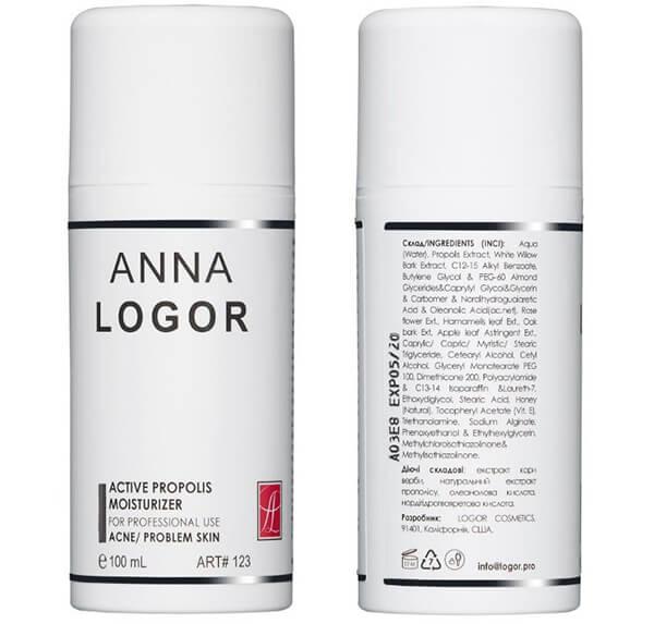 ANNA LOGOR Активный крем с прополисом для проблемной кожи, купить Украина