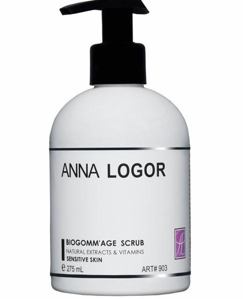 ANNA LOGOR Биогоммаж - скраб для чувствительной кожи, купить Украина