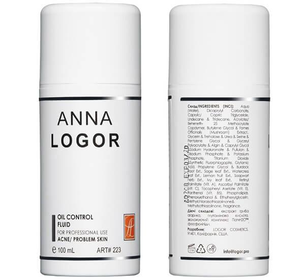 ANNA LOGOR Эмульсия стабилизирующая для жирной кожи купить Украина