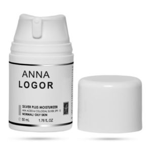 ANNA LOGOR Увлажняющий крем с коллоидным серебром 50 мл. купить Украина