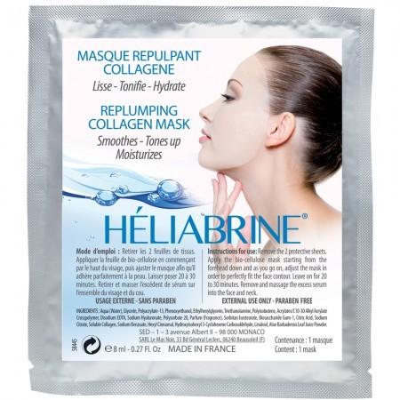 Биоцеллюлозная маска-заполнитель морщин Heliabrine® HP Replumping Collagen Mask