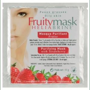 "Очищающая маска ""Клубничный рай"" Heliabrine® FRUITY MASKS Purifying Mask with Strawberry"