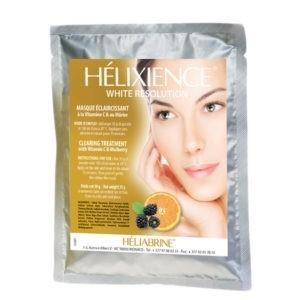 Осветляющая альгинатная маска с витамином С и шелковицей Heliabrine® Helixience Mask with Mulberry