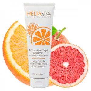 Скраб для тела с цитрусовыми Heliabrine® SATIN Body Scrub with Citrus Fruits