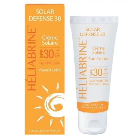 Солнцезащитный крем с SPF30 UVB/12UVA+++ Heliabrine® SOLAR DEFENSE 30