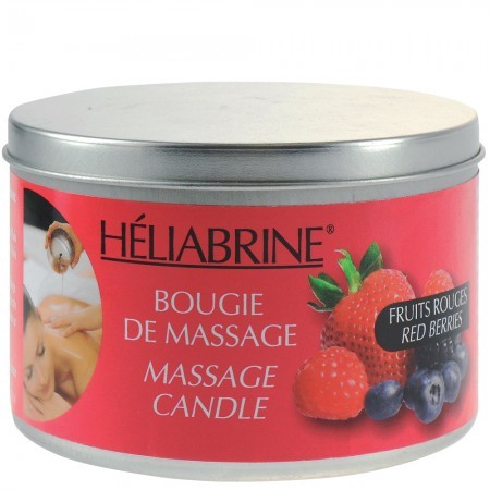 "SPA свеча для массажа ""лесные ягоды"" Heliabrine® SATIN Red Berries Massage Candle"