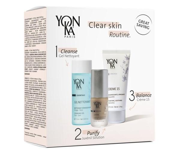 Косметический набор YON-KA CLEAR SKIN ROUTINE