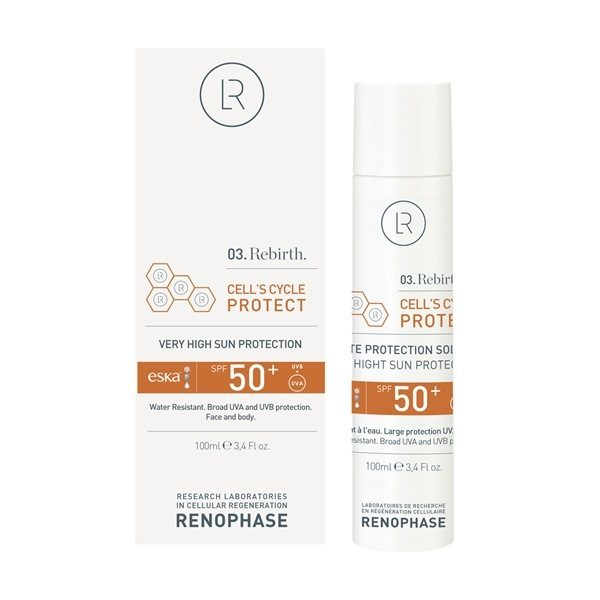 Крем солнцезащитный 50+ RENOPHASE Cell'scycle Protect SPF 50+
