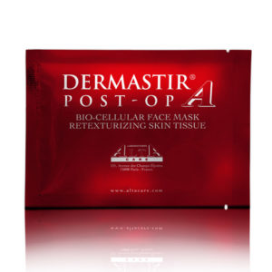 DERMASTIR BIO-CELLULAR FACE MASK RETEXTURIZING SKIN TISSUE