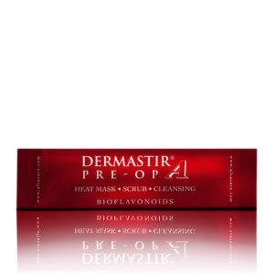 DERMASTIR EXFOLIATING HEATING SCRUB + MASK - CRANBERRY