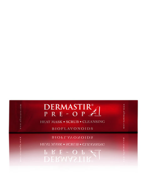 DERMASTIR EXFOLIATING HEATING SCRUB + MASK - CRANBERRY
