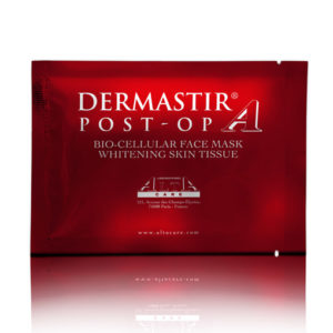 DERMASTIR POST-OP BIO CELLULAR FACE MASK WHITENING SKIN TISSUE