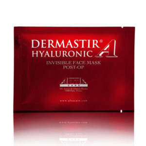 DERMASTIR POST-OP HYALURONIC INVISIBLE FACE MASK